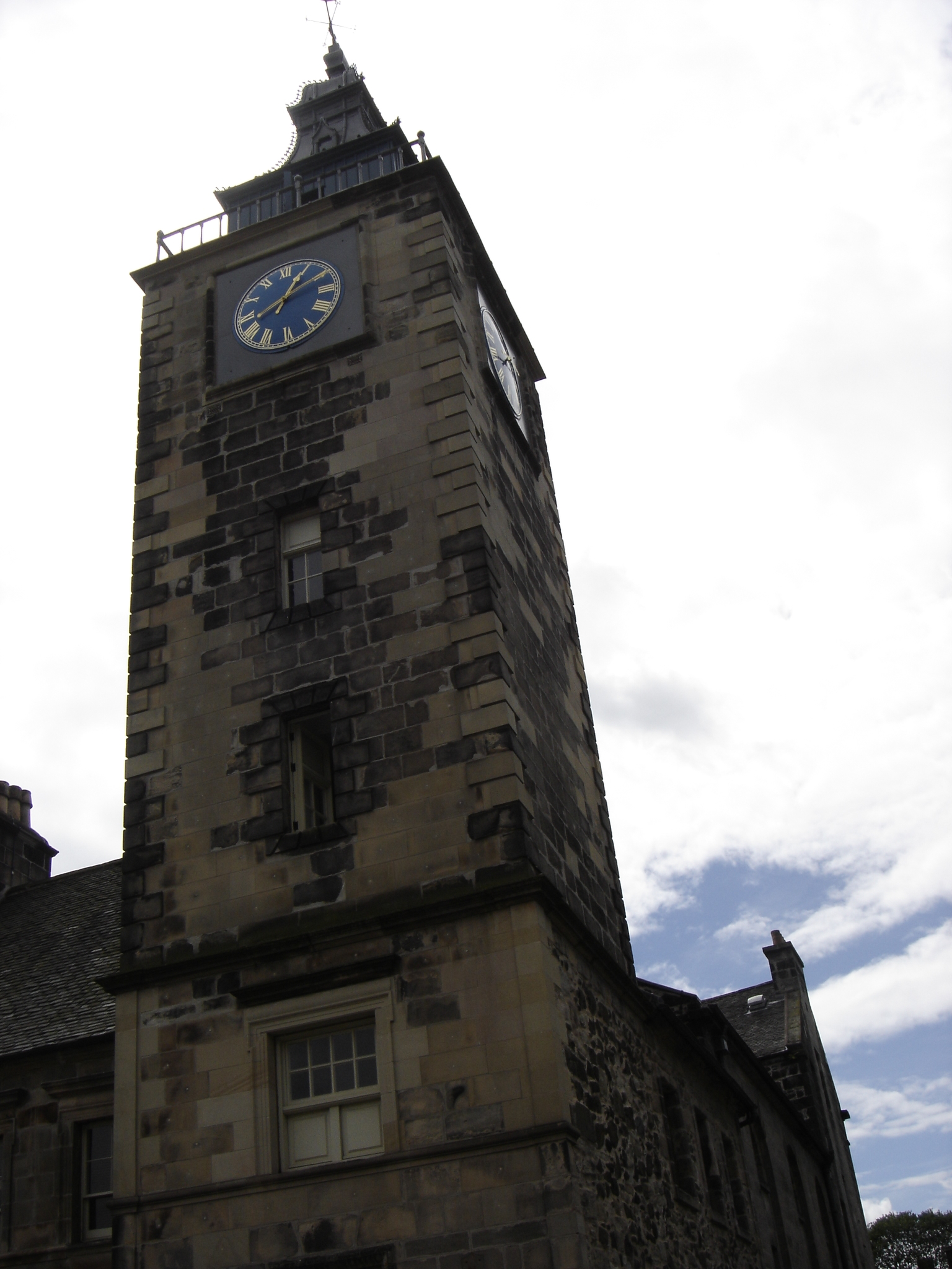 Frederik Questier - Photo: 20060717-130947 Scotland Stirling old Tolbooth clock